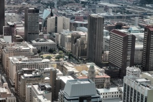 Market Square- The Joburg Library and City Hall can be seen